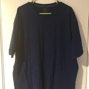 T-Shirt Navy Blue 2xl